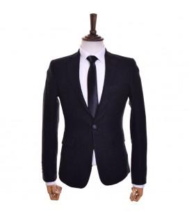 کت تک مردانه مشکی Royal fashion