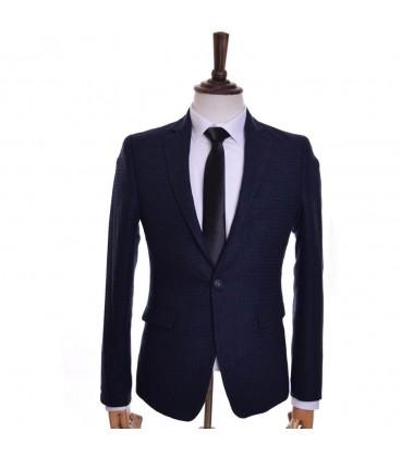 کت تک مردانه سرمه ای Royal fashion