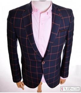 خرید کت تک مردانه چهارخانه Carino