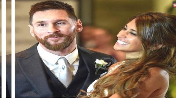 مهمان های سرشناس مسی در مراسم ازدواجش چه پوشیدند؟